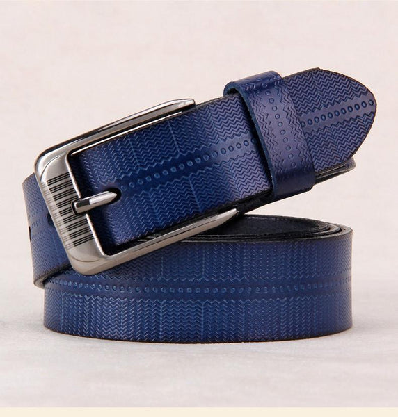 New Belts For Women Second Layer Cow Genuine Leather Fashion Pin Buckle High Quality Woman Belt Luxury Female Strap For Jeans-DIGDU-DIGDU