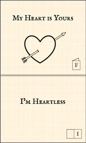 My Heart is Yours - Punk Paperie
