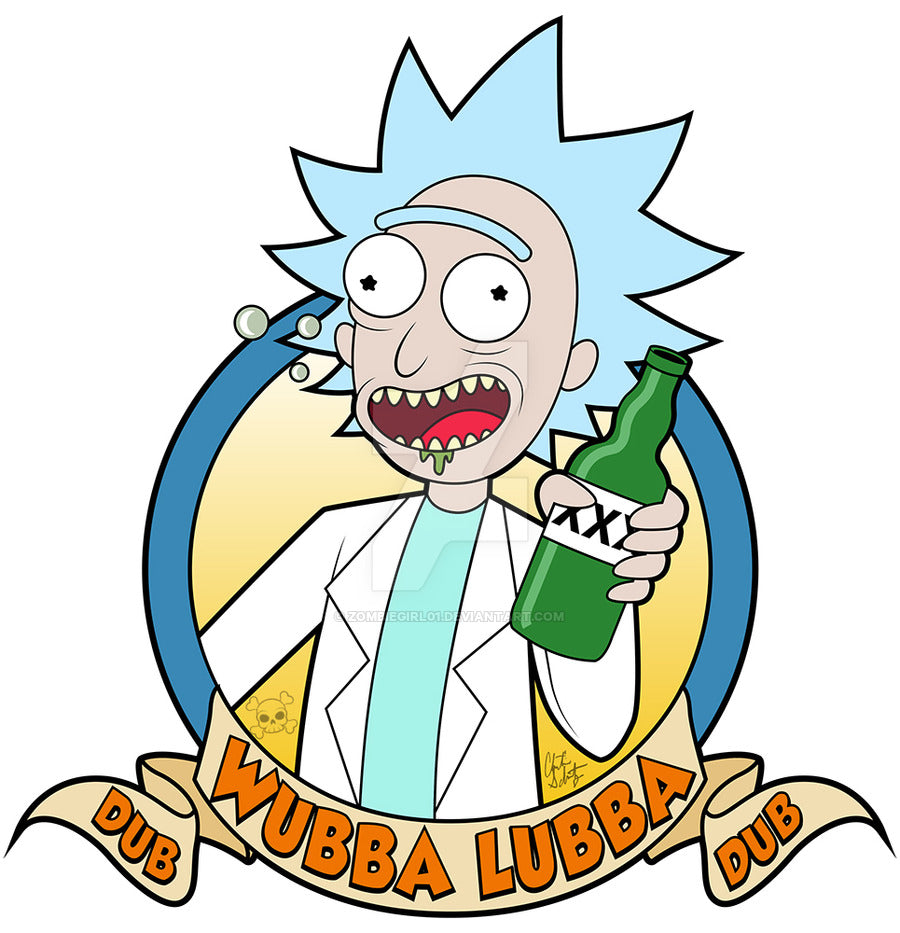wubba lubba dub dub from rick and morty