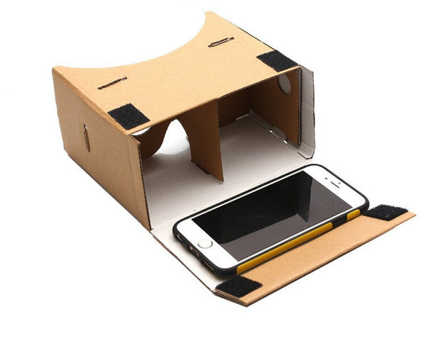 DIY Virtual Reality Cardboard Glasses For Smart Phones