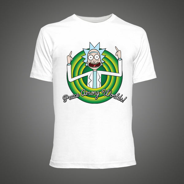 Mens Cool Rick and Morty T Shirt 2016 Summer