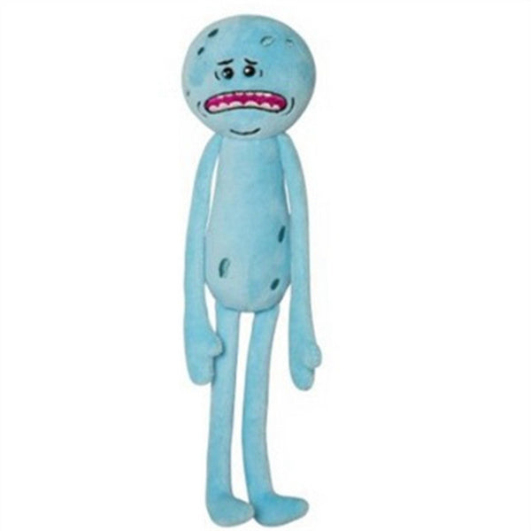 Mr Meeseeks Plush Toy Doll from Rick and Morty