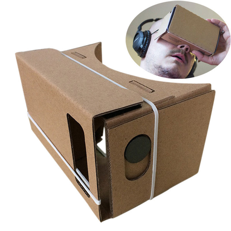 2016 6 inch DIY Google Cardboard 3D Virtual Reality Glasses For Android