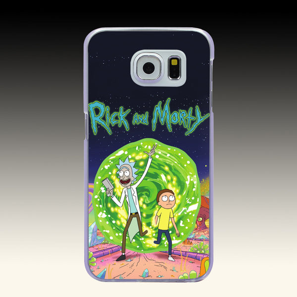 Rick and Morty Phone Cases Cover for Samsung Galaxy S2 S3 S4 S5 & Mini S6 S7 & Edge Plus