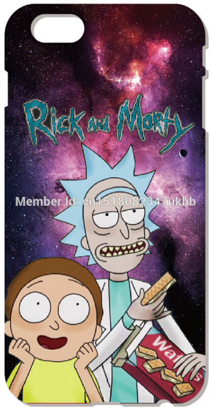 Retail Rick and Morty IPhone Case