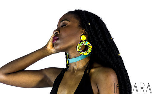 NSIDIBE Solid Colored Simple Choker Necklace