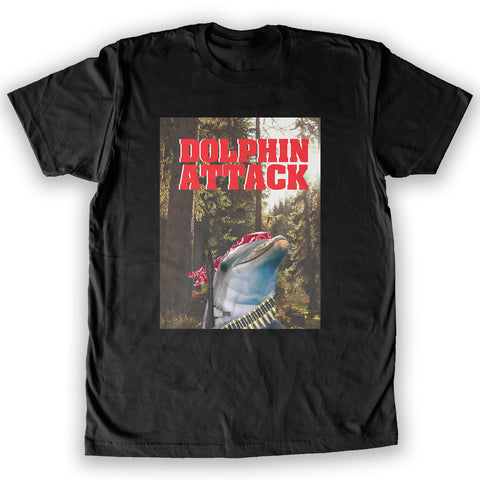 Death By Novelty - Dolphin Attack  Men's Fashion T-Shirt