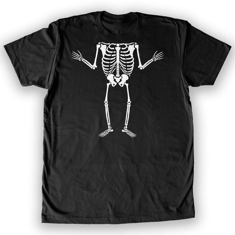 Death By Novelty - Skeleton Mini Body Costume Men's Fashion T-Shirt