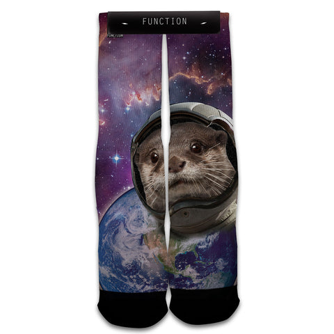 Otter Space Fashion Socks