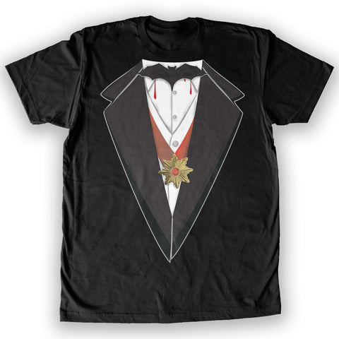 Death By Novelty - Vampire Costume Men's Fashion T-Shirt