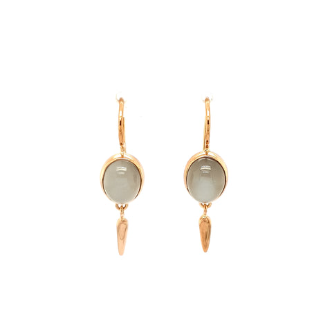 Grey Moonstone Earrings RG