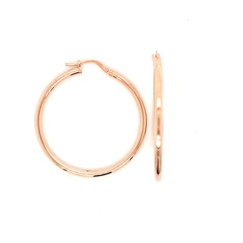 Hoops RG plated - 30mm