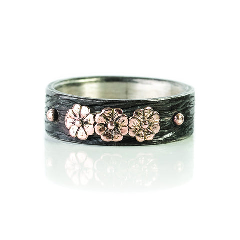 Zayliya flower ring
