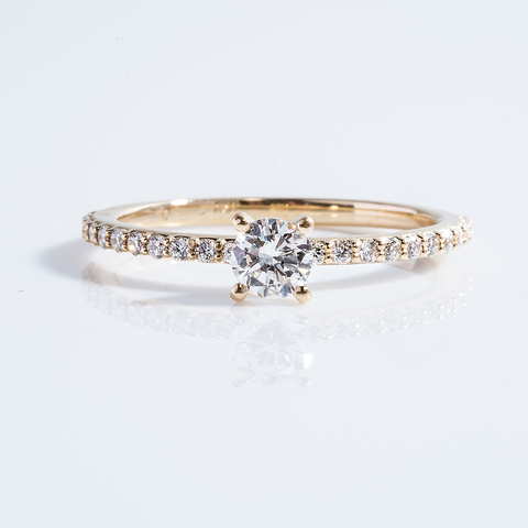 Diamond Engagement Ring 001-01180