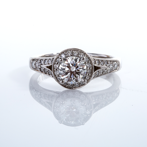 Platinum Diamond Halo 001-00381