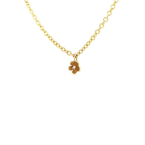 Forget Me Not Bracelet - Yellow Gold