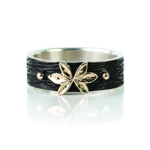 Zayliya leaf ring