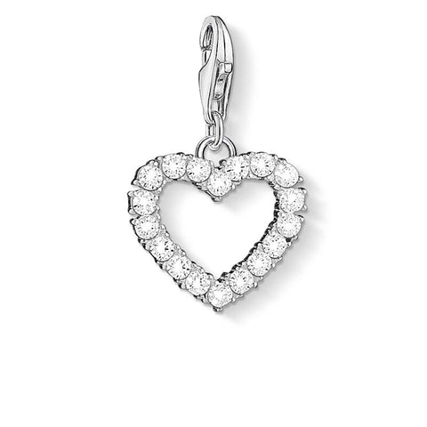 CHARM CLUB - CZ Open Heart