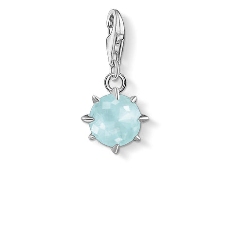 CHARM CLUB - March Milky Aquamarine