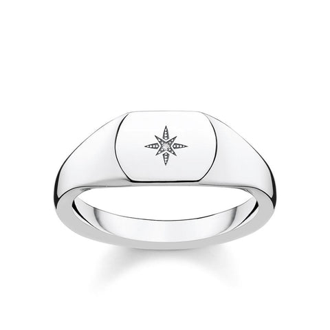 "RING ""VINTAGE STAR SILVER"" - Diamond"