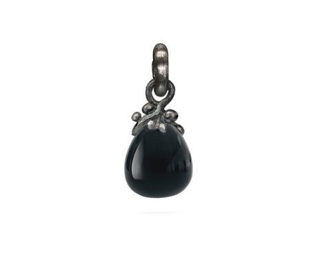 Ole Lynggaard Filigree Sweet Drop - Black Onyx Cabochon