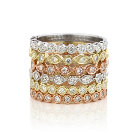 Diamond Stackers - Antique
