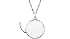Stow Silver Locket - Large
