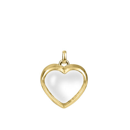 Stow Gold Heart Locket - Yellow gold