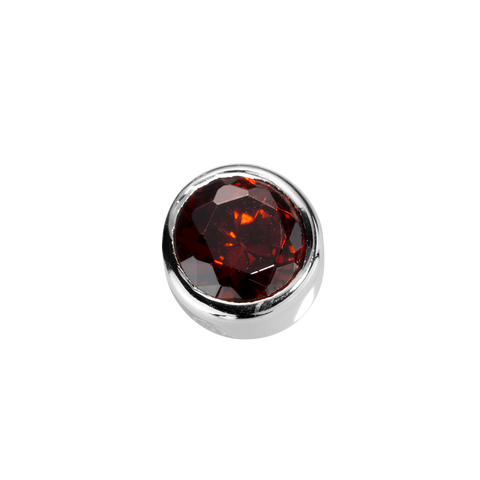 Virtue Charm Happiness- Garnet CZ