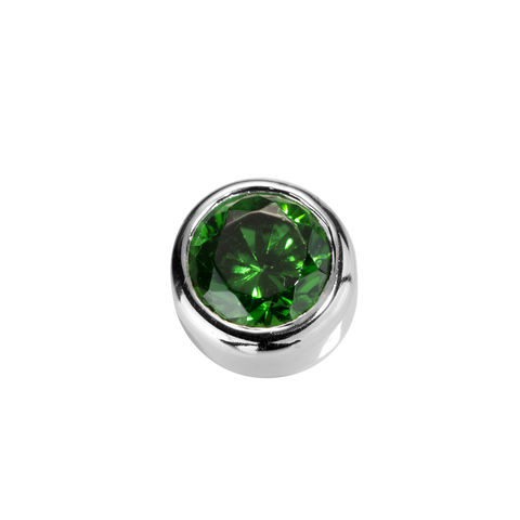 Virtue Charms Balance - Emerald CZ
