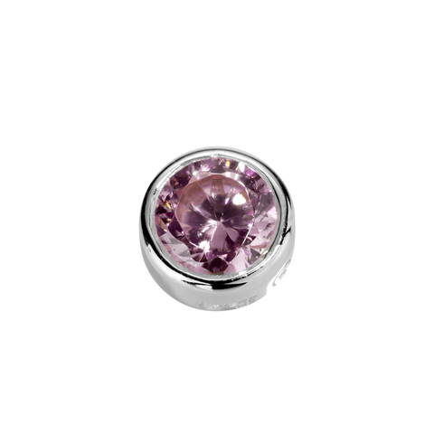 Virtue Charm Compassion - Pink Tourmaline CZ