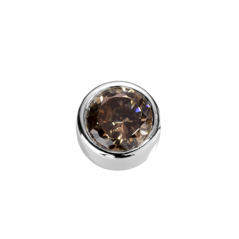 Virtue Charm Strength - Brown Topaz CZ