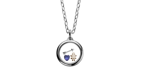 Stow Silver Locket - Medium