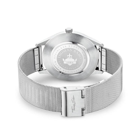 "UNISEX WATCH ""CODE TS SILVER WHITE"""