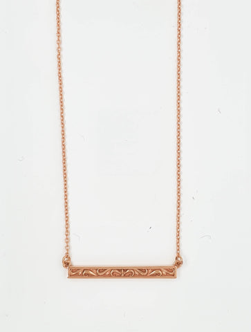 Scroll Bar Necklet