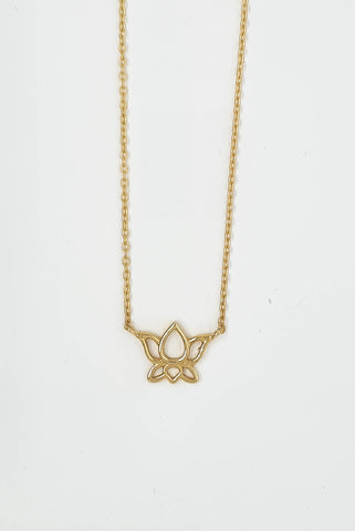 Lotus Flower Necklet
