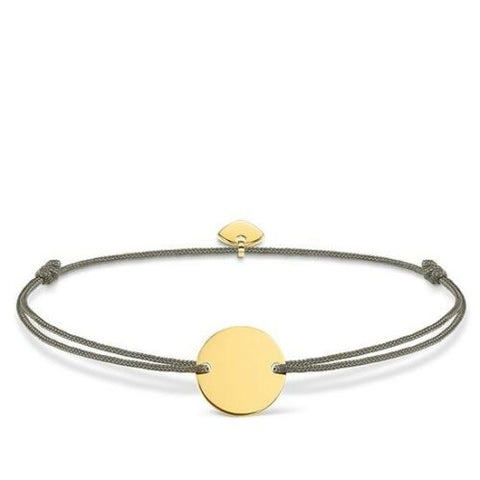 BRACELET LITTLE SECRET DISC - Yellow gold
