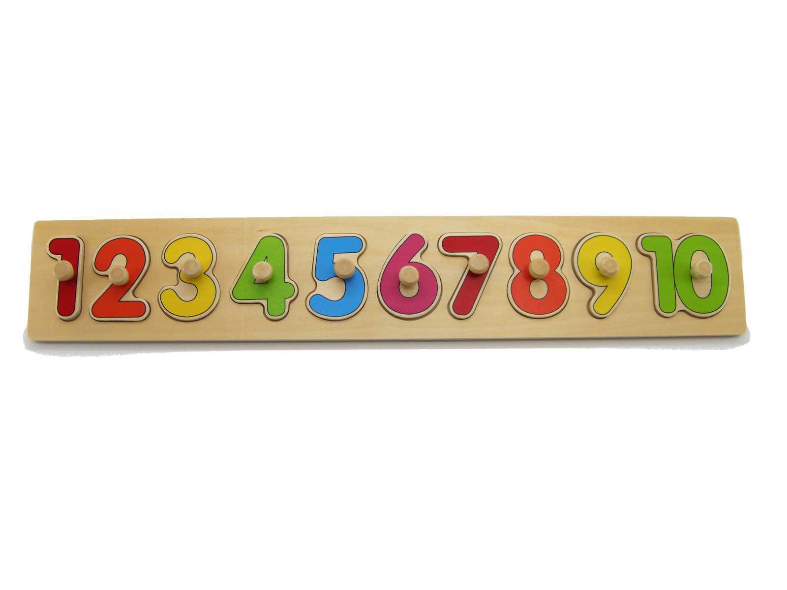 NUMBER PUZZLE WITH KNOBS