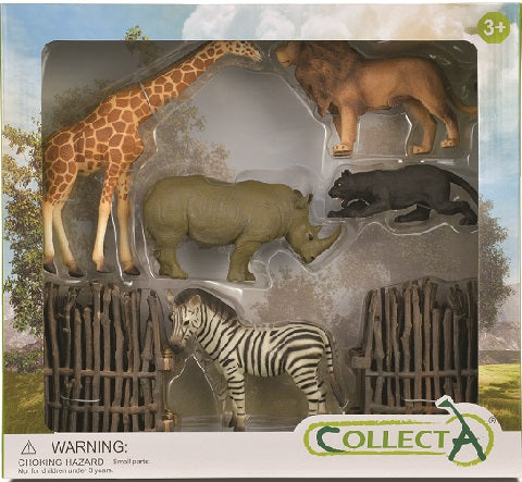 GIFT SET - WILD (5 animals)
