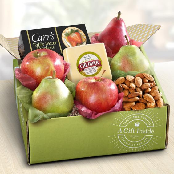 Fruit and Cheese Gift Box - CFG1017
