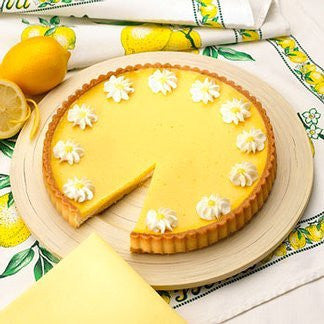 Lemon Flower Tart 9.5""