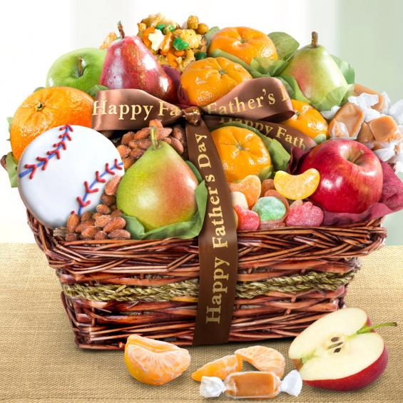 Fruit and Snack Gift Basket for Dad - CFG4050F