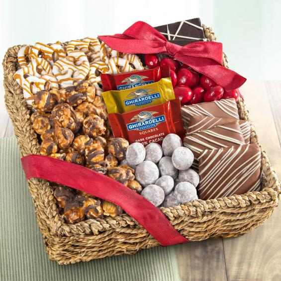 Chocolate, Caramel and Crunch Gift Basket - CAA4055