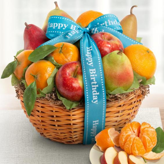 Birthday Fruit Favorites Gift Basket - CFG4103B_20A - This item will not ship until after 1-05-2021