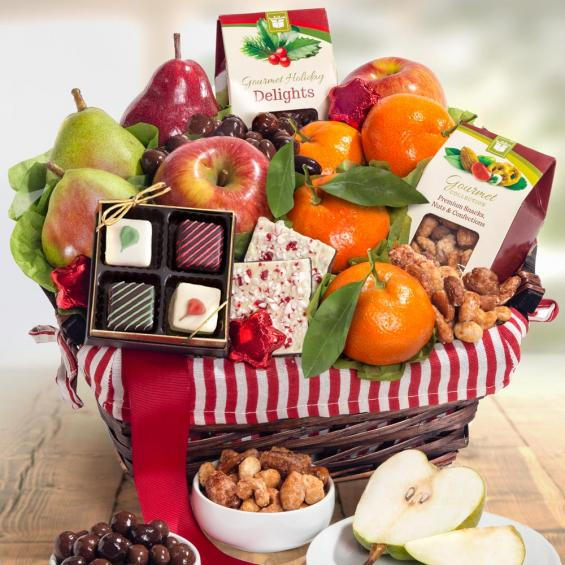 Rustic Treasures Fruit Basket - CFH4050_18