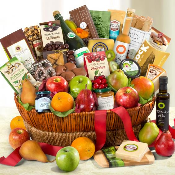 California Grand Gourmet Gift Basket - CFG4068_18