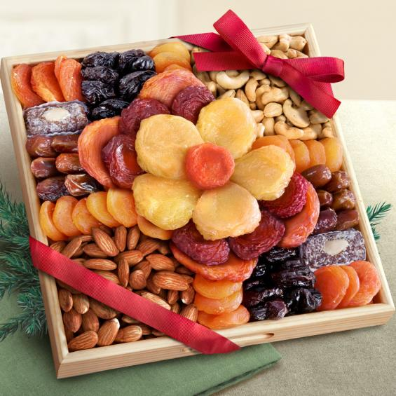 Flora Dried Fruit and Nut Tray - CFG8017_21A