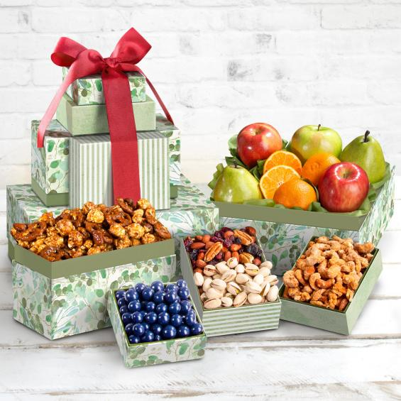 Fruit and Nut Gift Tower -  CFG0460_20N