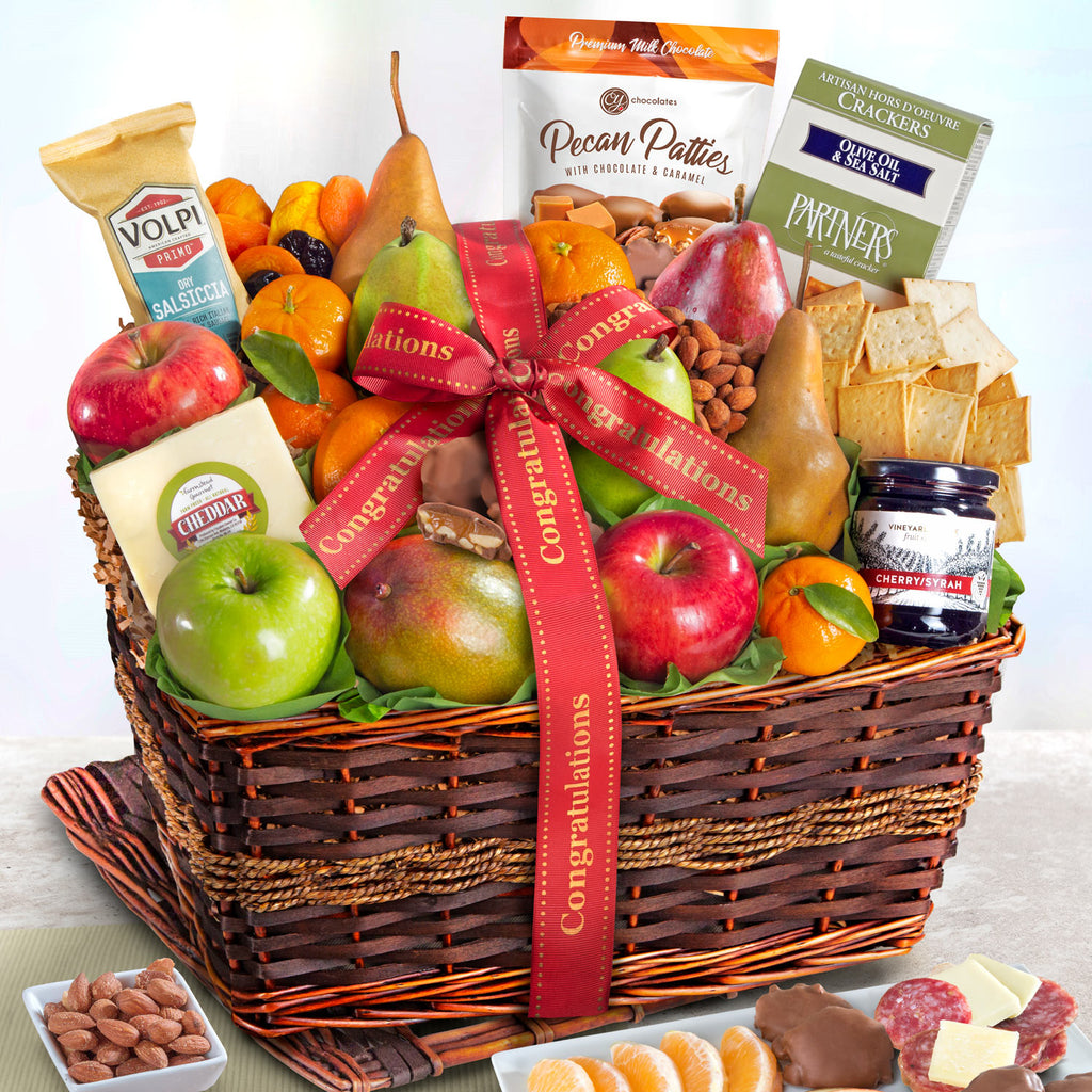 Abundance of fruit Congratulations Basket - CFG4102C_20N