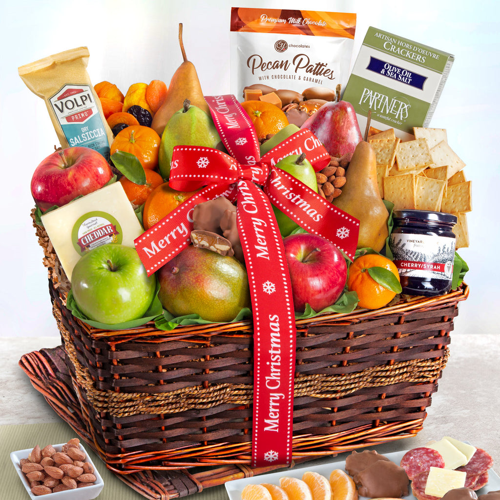 Abundance of Fruit Christmas Basket - CFG4102X_20N